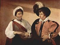 The Fortune Teller by Caravaggio - bet you did n't know that !