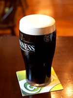 A pint of plain is your only man- by Jon Sullivan at www.pdphoto.org